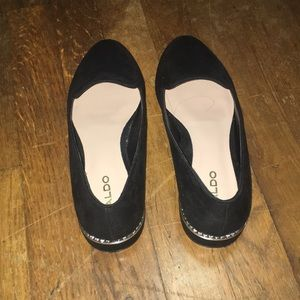 Black flats/loafers